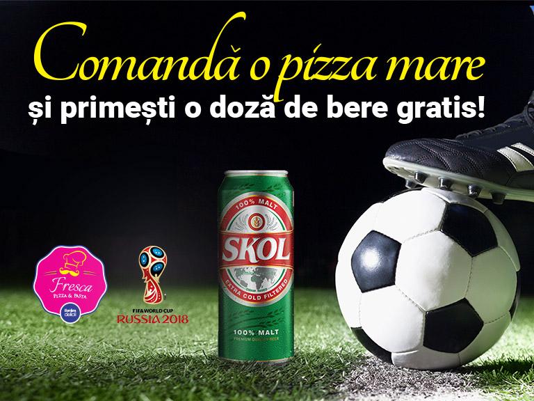 Sărbătorește Cupa Mondială cu Fresca