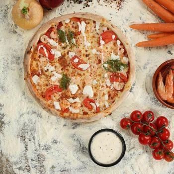 PIZZA GARLIC PRAWNS