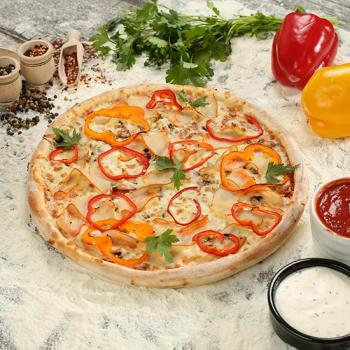 PIZZA PIRI PIRI CHICKEN